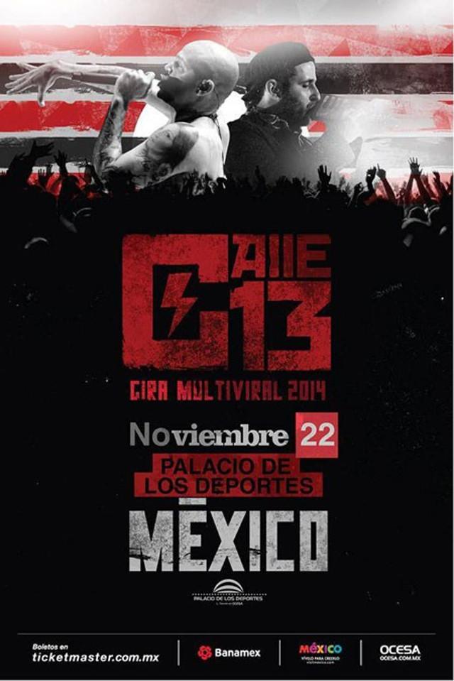 Gana boletos para el concierto de Calle 13