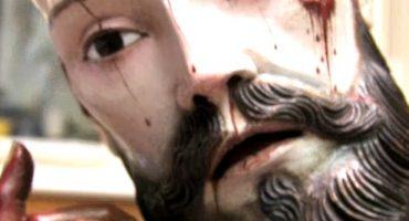 Personal del INAH descubre que figura de Cristo tiene dientes humanos