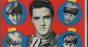 El día que los Beatles conocieron a Elvis Presley