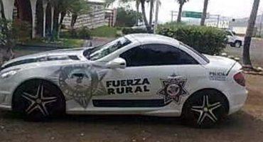 Como en Dubái: Patrullas Mercedes Benz circulan en Apatzingán