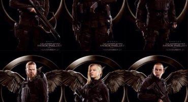 """Aquí están los nuevos posters de """"The Hunger Games: Mockingjay – Part 1″"""