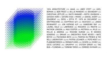 Segunda ola de artistas confirmados para MUTEK.MX