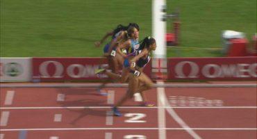 El increíble regreso de una atleta francesa en los 400 metros