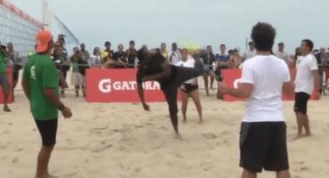 Video: Usain Bolt demuestra por qué puede jugar futbol
