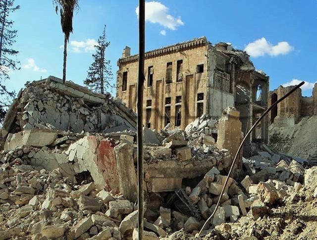 Esta es la destrucción en Siria: monumentos más importantes antes y después