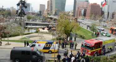 Explosión en el metro de Chile; gobierno la califica como atentado terrorista