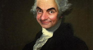 Mira estas pinturas clásicas con la cara de Mr. Bean