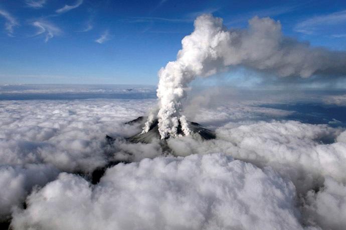 Galería: La erupción del segundo volcán más alto de Japón
