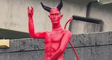 ¿¡¡WTF con la estatua de Satanás desnudo en Canadá!!?