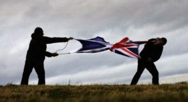 Resultado final del Referéndum para la Independencia de Escocia: No, 55%