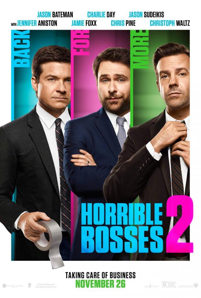 """Rían con el nuevo trailer de """"Horrible Bosses 2″"""