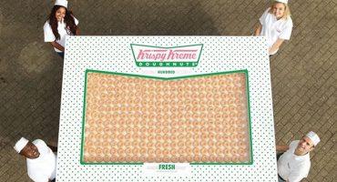 ¿Hambre? Aquí está la maravillosa caja con doscientas docenas de donas
