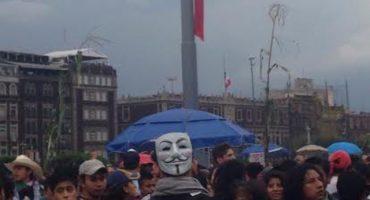 Llega la marcha conmemorativa del 2 de octubre al Zócalo