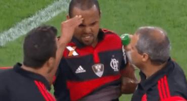 La impresionante fractura de cráneo de un jugador del Flamengo
