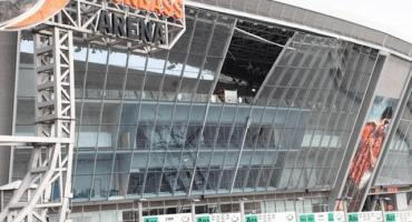 Niña se salvó de morir en un bombardeo al estadio del Shakhtar