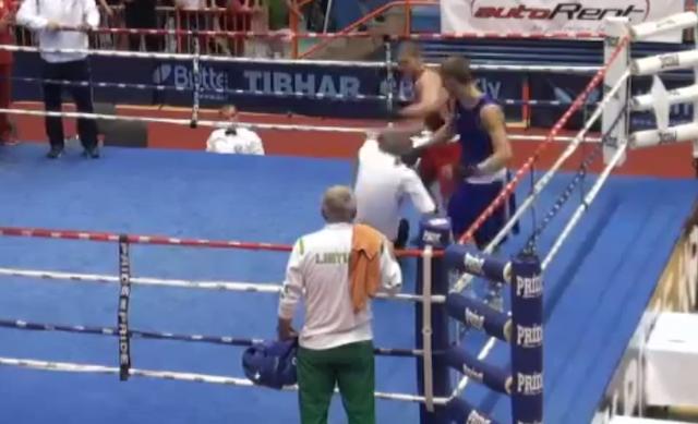 Video: Este boxeador se ganó el premio al