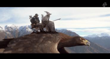 Medidas de seguridad en un avión hechas por personajes del Hobbit