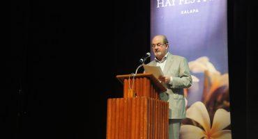 Hay Festival: Salman Rushdie y el lugar de la ficción en la sociedad