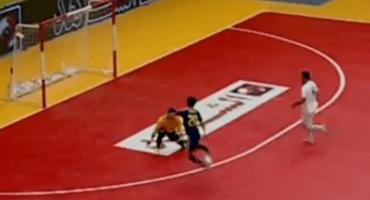 Video: ¿El mejor gol que se ha visto en el futbol sala?