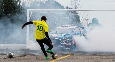 Footkhana: el reto entre Neymar y Ken Block
