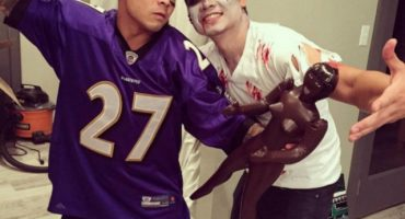 WTF?!?! La nueva moda para este Halloween es disfrazarse de... ¿Ray Rice?