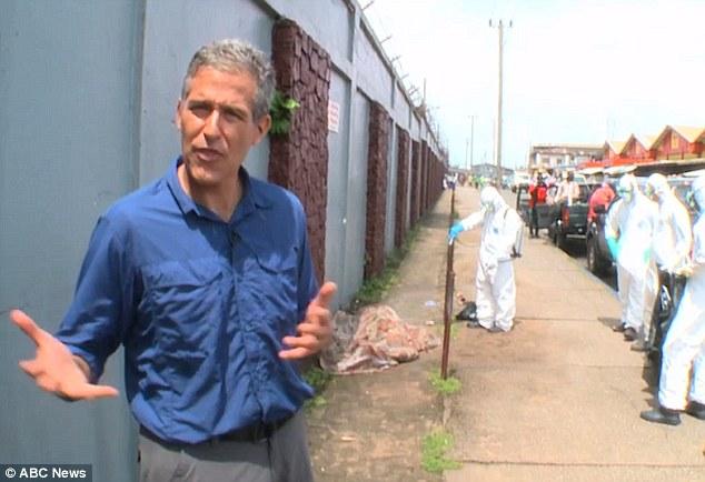 Víctima de ébola