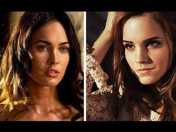 ¿Cómo sería un mashup entre Emma Watson y Megan Fox?