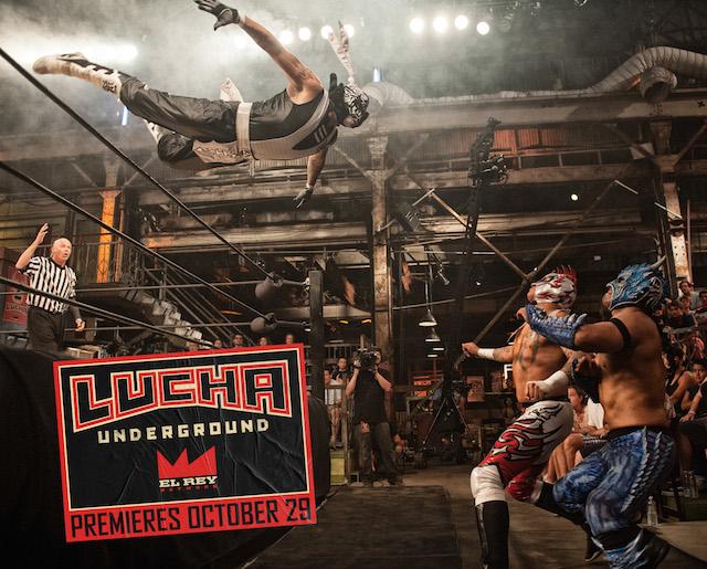 Robert Rodriguez apuesta por la lucha libre, Lucha Underground se apodera de Estados Unidos