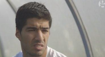 Luis Suárez corta una entrevista tras unas preguntas sobre sus mordiscos