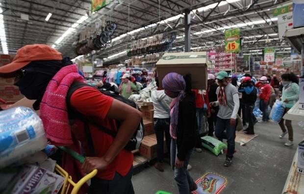 Supermercados son tomados en Chilpancingo: productos básicos gratis