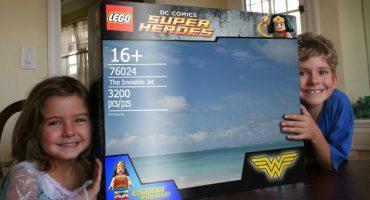 Nerdgasmo: el avión invisible de Wonder Woman en LEGO