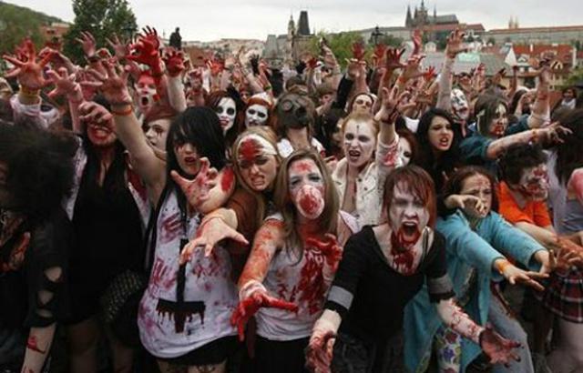 WTF?!?! En Kansas preparan a su población ante una posible invasión zombi