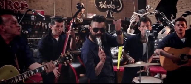Rebeldía, baile y motos en el nuevo video de Rebel Cats + Dr. Shenka