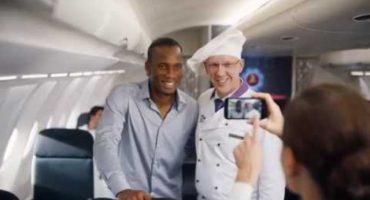 El comercial donde Didier Drogba huye de Messi
