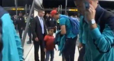 Cristiano Ronaldo le cumplió un sueño a un niño