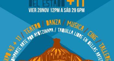 #BellasArtes43, las acciones de los artistas por Ayotzinapa