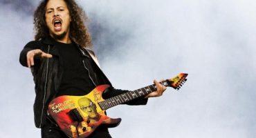 Kirk Hammett 52 años y contando