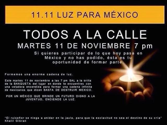 GALERIA: 11.11 Luz para México