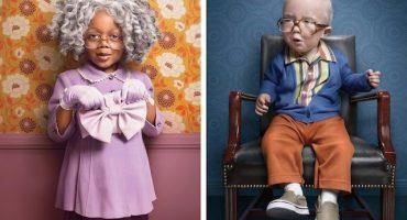 Bebés vestidos de señorcitos nos muestran otra forma de asumir la edad