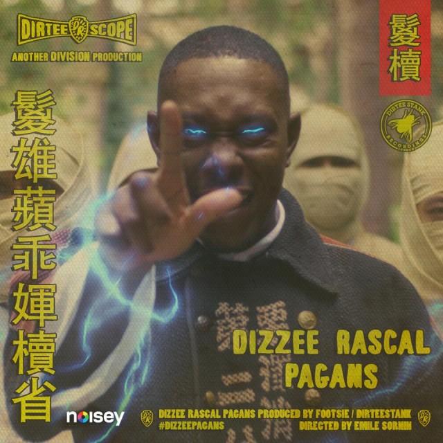 Dizzee Rascal es un maestro de kung fu en el divertido video de