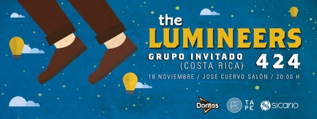 ¡Boletos para The Lumineers en México!