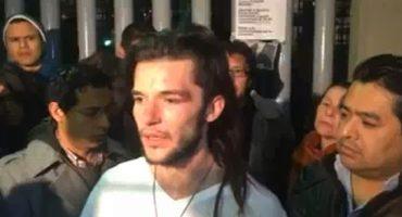 Libre estudiante detenido ayer: