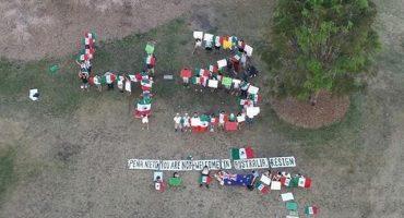 GALERIA: Así son las protestas contra EPN en Australia por Ayotzinapa