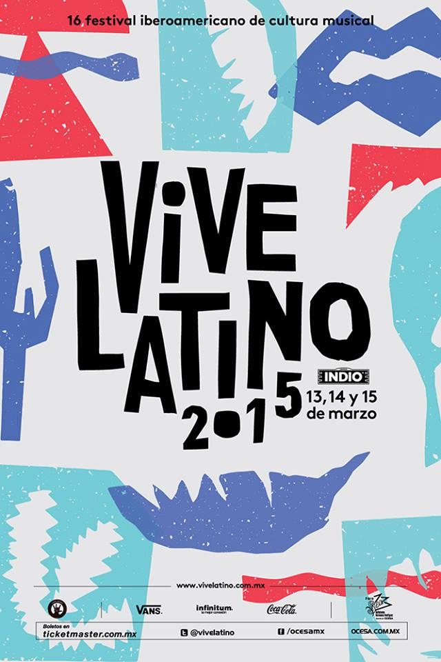 Todos los detalles sobre el line up del Vive Latino 2015