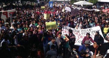 Marchan al MP en protesta por detenidos del #1DMX