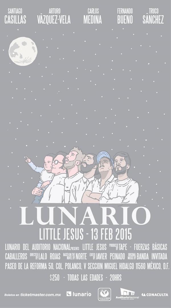 Little Jesus en el Lunario