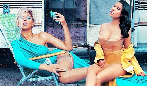 Nicki Minaj une fuerzas con Beyoncé para