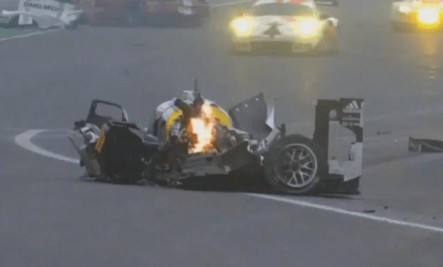 Mark Webber tuvo un accidente que casi le quita la vida