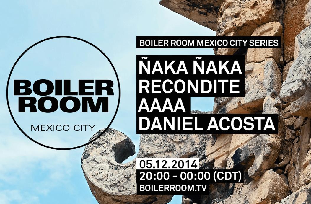 Boiler Room México presenta este viernes a Recondite y más