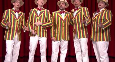 Steve Carell y Jimmy Fallon cantan Marvin Gaye... estilo barbershop